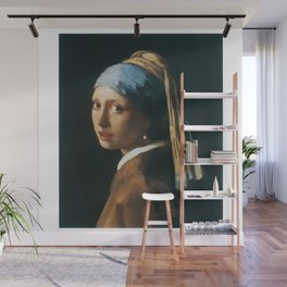 The Girl with a Pearl Earring Wall Mural