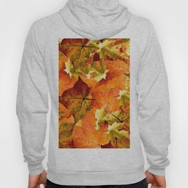 Fallen Autumn Leaves Hoody