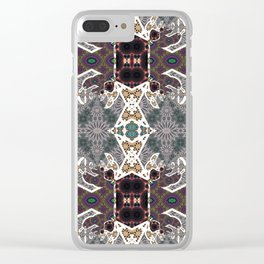 Variant Pattern 25 Clear iPhone Case