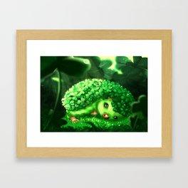 Clover hog Framed Art Print