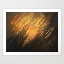 Gold to the touch Art Print