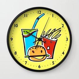 Fun Fast Food Wall Clock