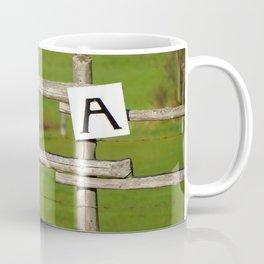 Looking at A Coffee Mug