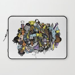 Music Collage Laptop Sleeve