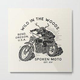 Wild in the Woods  Metal Print