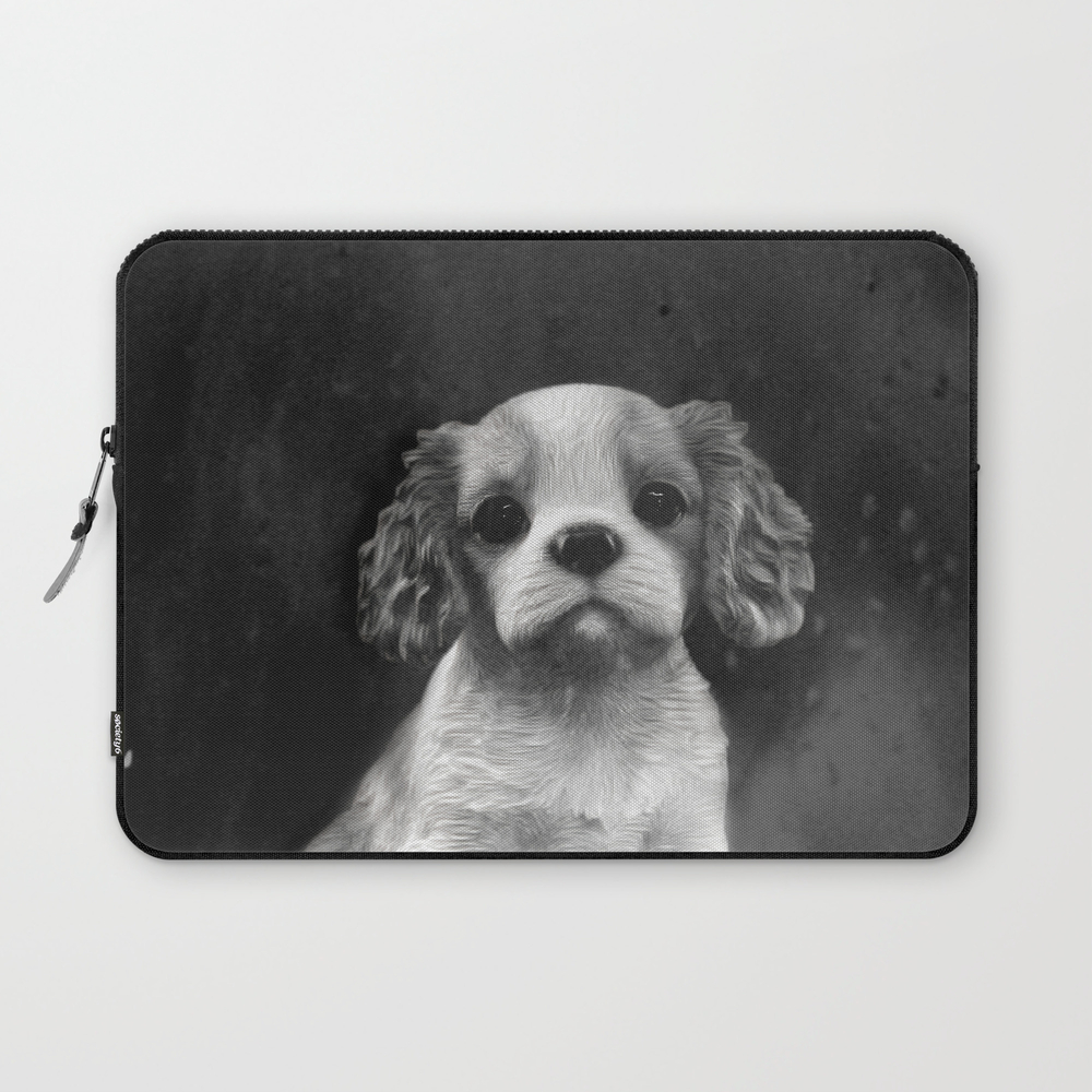 King Charles Spaniel Puppy Laptop Sleeve LSV8640711
