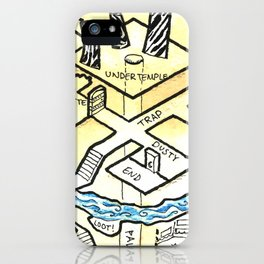 Obsidian Dungeon iPhone Case