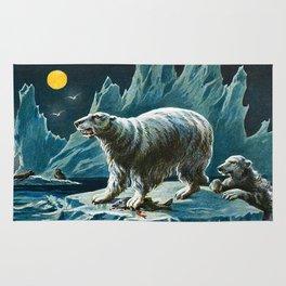 Arctic Polar Bears Rug