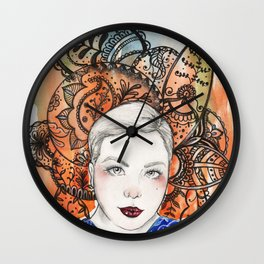 Paisleys Wall Clock