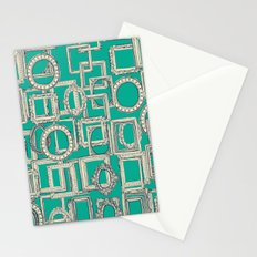 picture frames aplenty indigo jade Stationery Cards