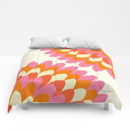 Dahlia at 60's Comforters