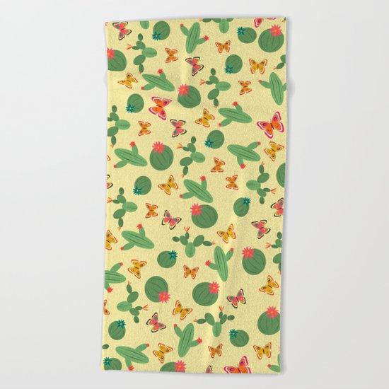 Cactus Beach Towel