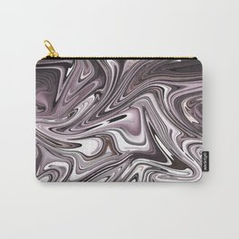 Abstract pink liquid painting Carry-All Pouch