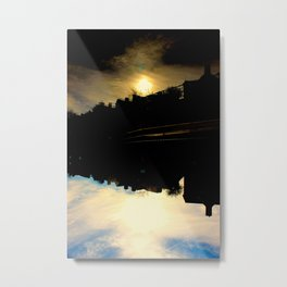 Dallas Sunfall Metal Print