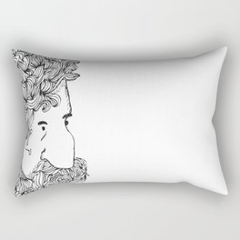 Bearded Man Rectangular Pillow