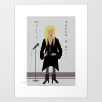 stevie nicks Art Prints featuring Stevie Nicks by Sarah Duet