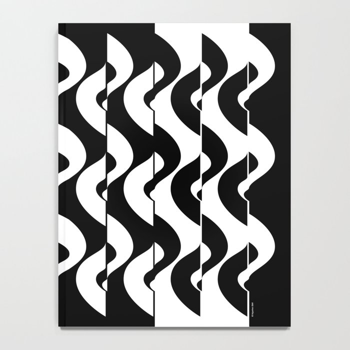 OpArt Waves Notebook