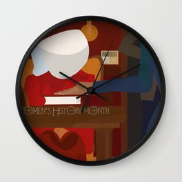 The Handmaid's Tale Poster 3 Wall Clock