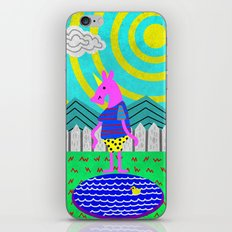 Summertime Unicorn iPhone & iPod Skin