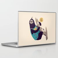 goonies Laptop & iPad Skins featuring sloth by Louis Roskosch