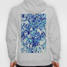 Blue sakura Hoody