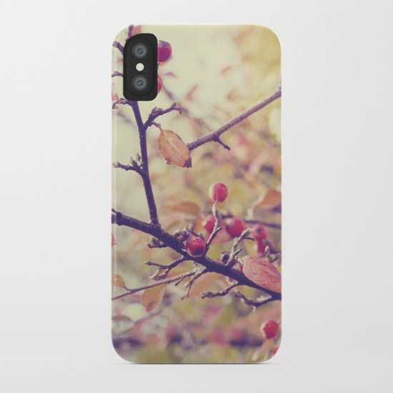 Berry Christmas iPhone Case