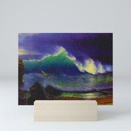 Emerald Sea by Albert Bierstadt Mini Art Print