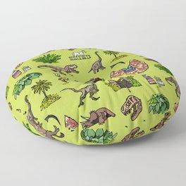 Jurassic pattern lighter Floor Pillow