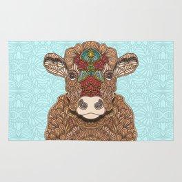 Frida the cow Rug