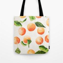 Satsumas Watercolor Painting Tote Bag