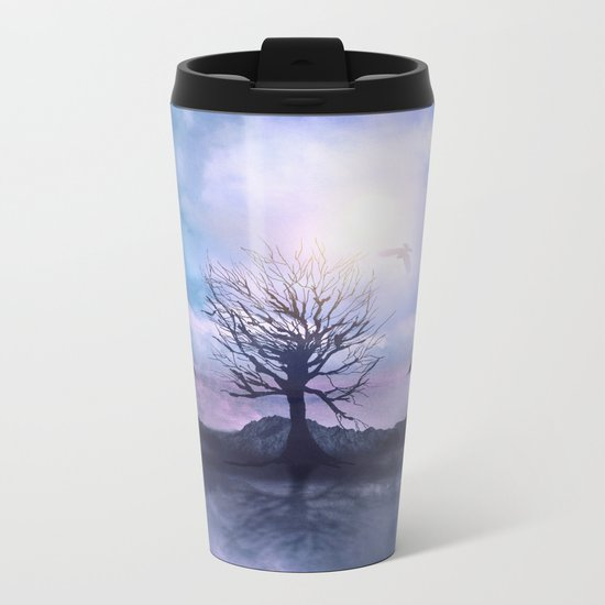 Messages from the Sun Metal Travel Mug