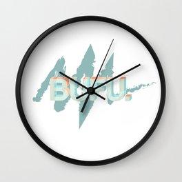bufu Wall Clock