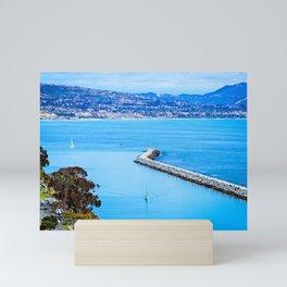 Sailing Home ( Dana Point, California ) Mini Art Print