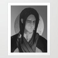Suikoden II - Shu Art Print