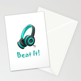 Beat It! Stationery Cards