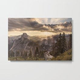 Sunrise Huntington Beach State Park 5k Wallpaper Metal Print