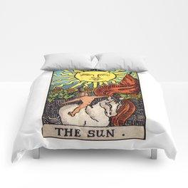 XIX. The Sun Tarot Card Comforters