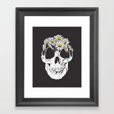 pushing daisies Framed Art Print