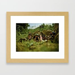 I have a new plan for a new hideout Framed Art Print