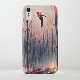 smoulder iPhone Case