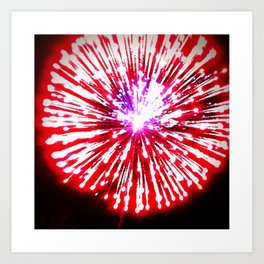 Baby You're a Firework Art Print