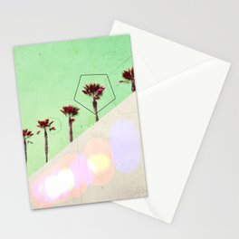 Levitated Mass (Green) Stationery Cards