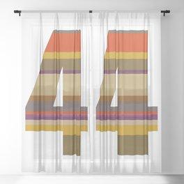 4 Who? Sheer Curtain