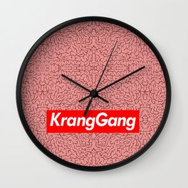 Krang2020 - #KrangGang Wall Clock