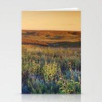 kansas Stationery Cards featuring Kansas landscape by Brad David