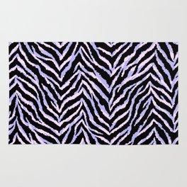 Zebra fur texture print II Rug