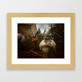 Rafiki at Animal Kingdom Framed Art Print