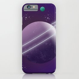 Planets and Galaxies Space Travel iPhone Case