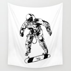 Astro-Skater Wall Tapestry