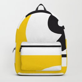 9 ball yellow Backpack